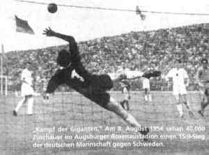 Länderspiel Deutschland - Schweden